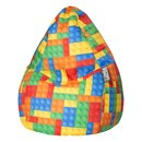 BeanBag BRICKS L multicolore