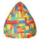 BeanBag BRICKS XL multicolore
